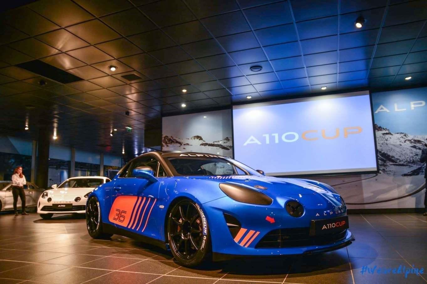 Alpine A110 Cup Signatech Studio Boulogne Billancourt GPE Auto 12 - L'Alpine A110 Cup en détail sous l'oeil de GPE Auto !