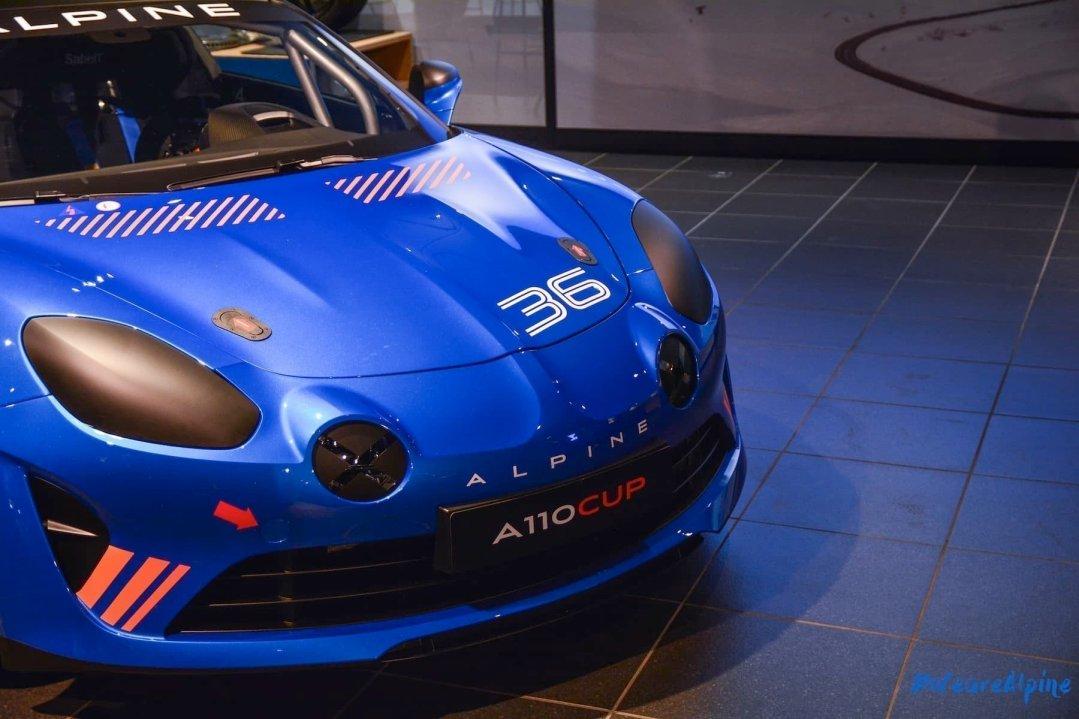 Alpine A110 Cup Signatech Studio Boulogne Billancourt GPE Auto 15 - L'Alpine A110 Cup en détail sous l'oeil de GPE Auto !