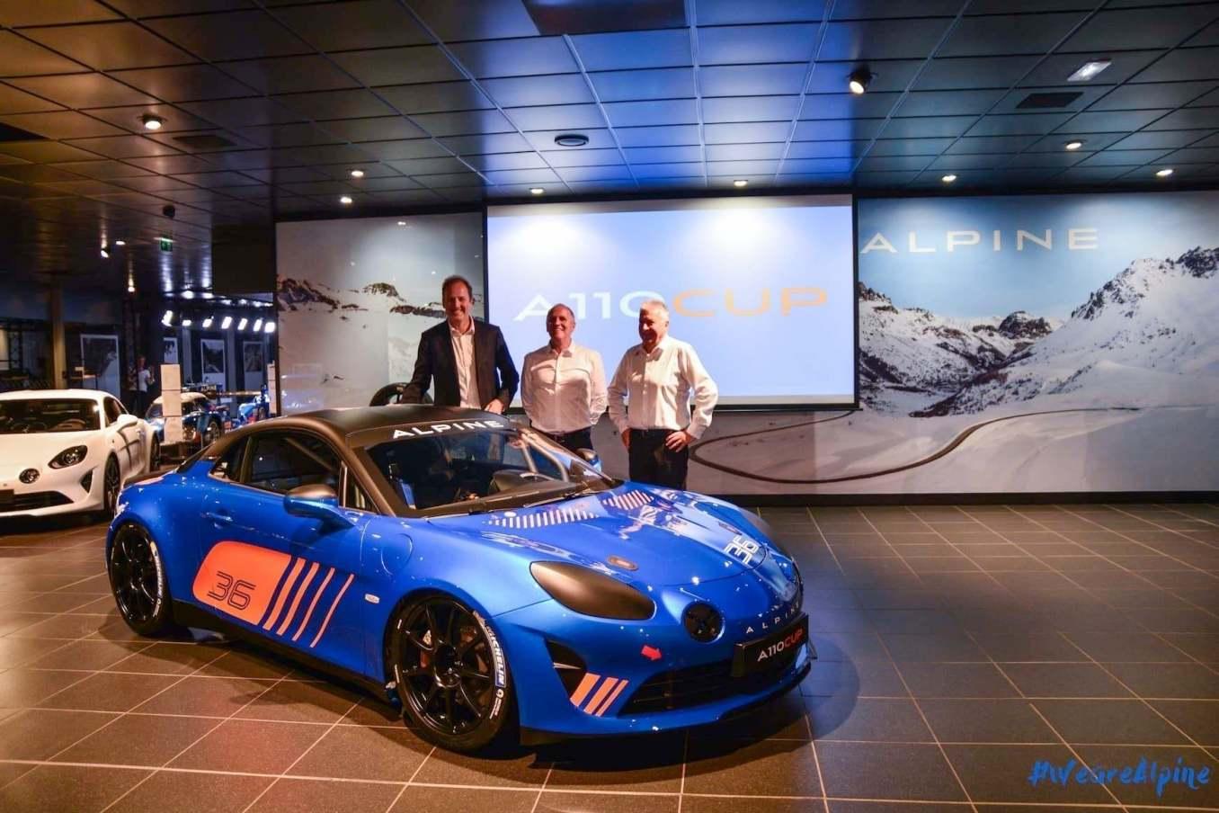 Alpine A110 Cup Signatech Studio Boulogne Billancourt GPE Auto 16 | L'Alpine Elf Europa Cup va débuter dans 20 jours !
