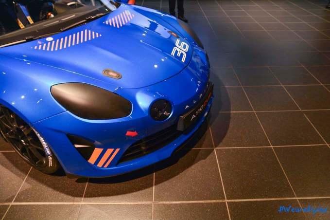 Alpine A110 Cup Signatech Studio Boulogne Billancourt GPE Auto 17 - L'Alpine A110 Cup en détail sous l'oeil de GPE Auto !