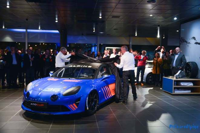 Alpine A110 Cup Signatech Studio Boulogne Billancourt GPE Auto - 39