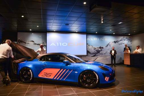 Alpine A110 Cup Signatech Studio Boulogne Billancourt GPE Auto 4 - L'Alpine A110 Cup en détail sous l'oeil de GPE Auto !