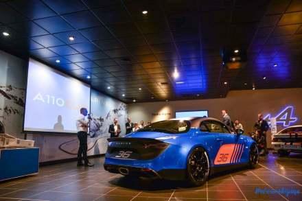 Alpine A110 Cup Signatech Studio Boulogne Billancourt GPE Auto - 5