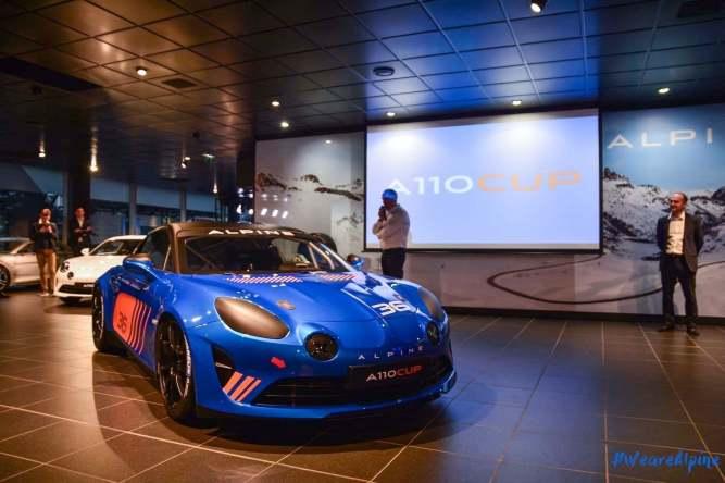 Alpine A110 Cup Signatech Studio Boulogne Billancourt GPE Auto - 6