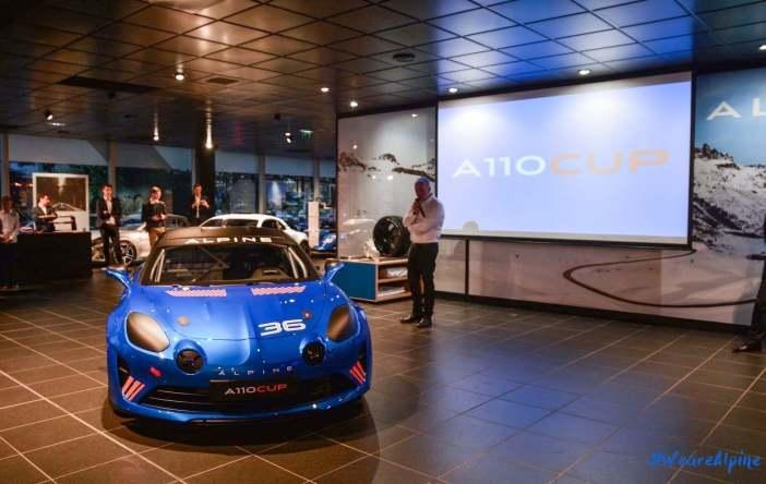 Alpine A110 Cup Signatech Studio Boulogne Billancourt GPE Auto - 7