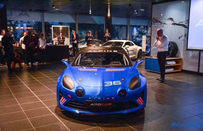 Alpine A110 Cup Signatech Studio Boulogne Billancourt GPE Auto - 8