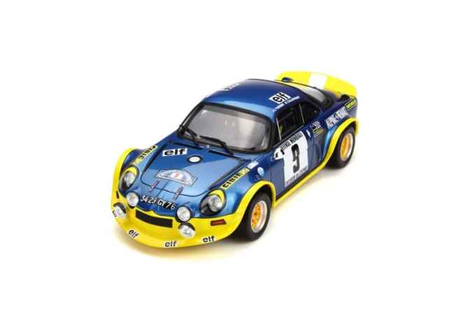 A110 1600 S Turbo OTTO Planet 1:18eme - 5