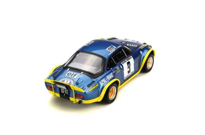 A110 1600 S Turbo OTTO Planet 1:18eme - 6