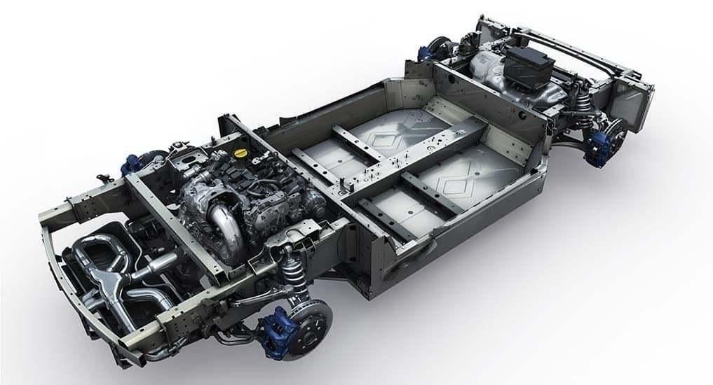 Alpine A110 chassis | Notre essai de la nouvelle Alpine A110 sur route !