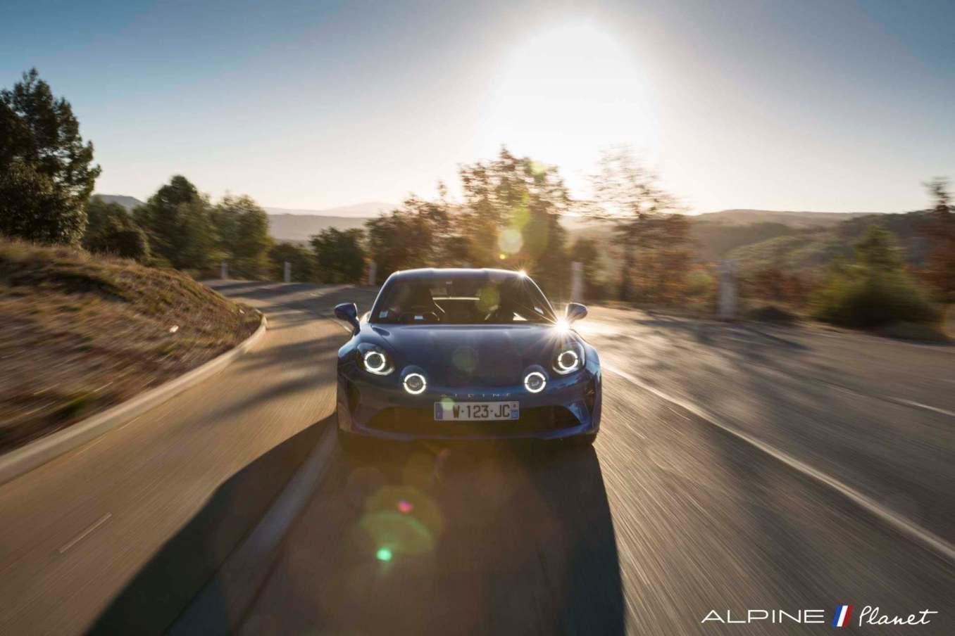Alpine planet drive A110 6 | Notre essai de la nouvelle Alpine A110 sur route !