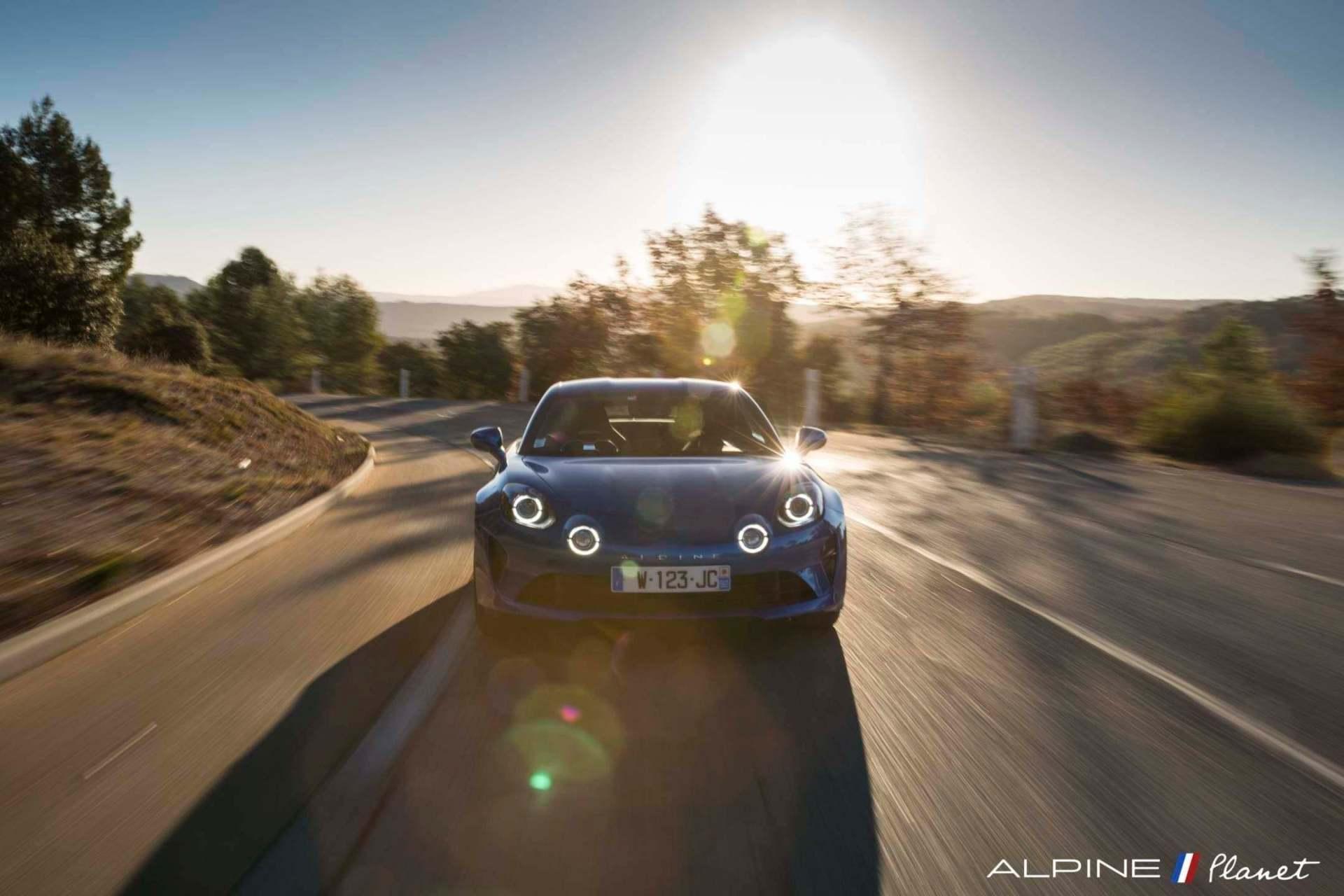 Notre essai de la nouvelle Alpine A110 sur route ! 25