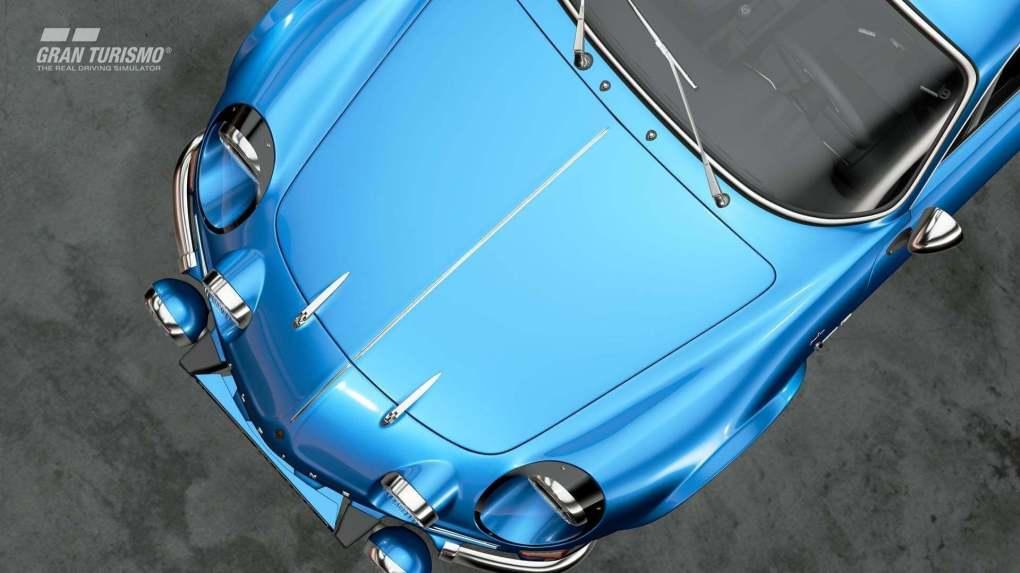 Alpine A110 1600S '72 GT Sport Gran Turismo Berlinette PS4 Playstation 4 Polyphony Digital DLC 2