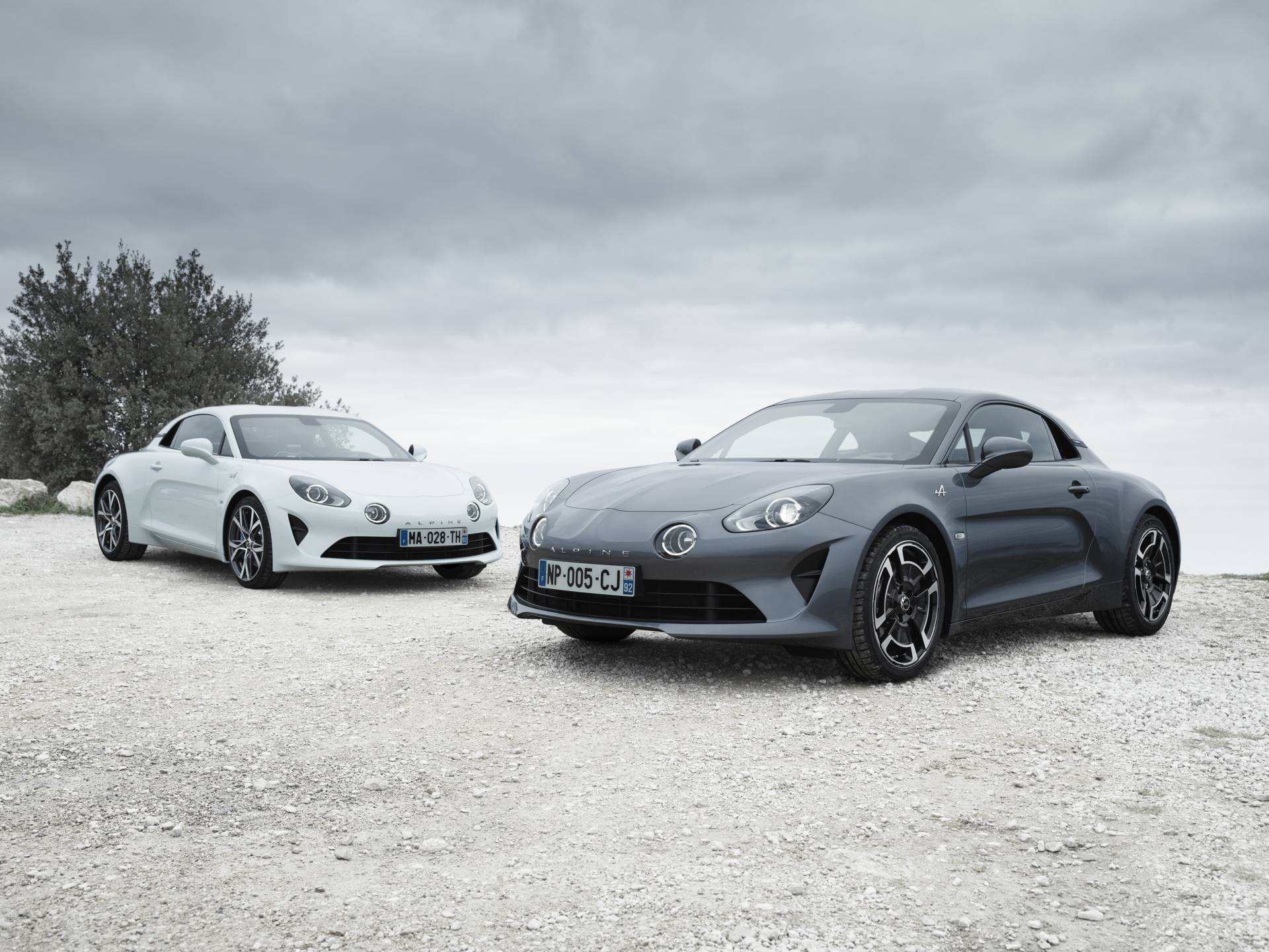 Alpine A110 Pure et Legende