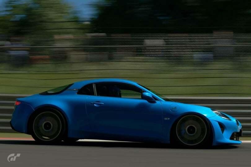 Les Alpine A110 1600S et Première Edition sont disponibles sur Gran Turismo Sport 5