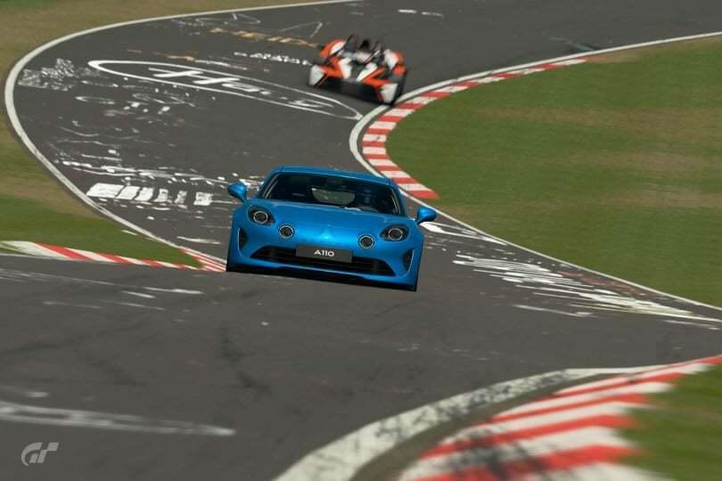 Les Alpine A110 1600S et Première Edition sont disponibles sur Gran Turismo Sport 4