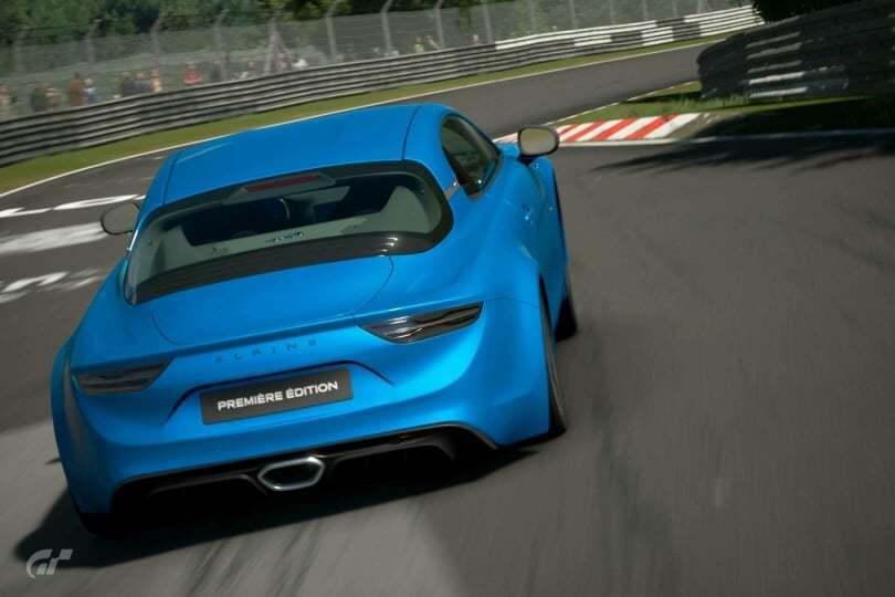 Les Alpine A110 1600S et Première Edition sont disponibles sur Gran Turismo Sport 3