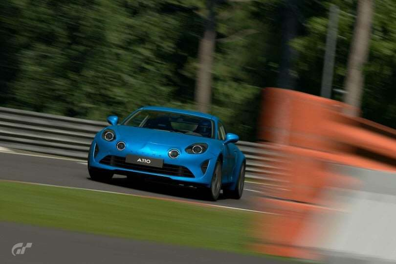 Les Alpine A110 1600S et Première Edition sont disponibles sur Gran Turismo Sport 1
