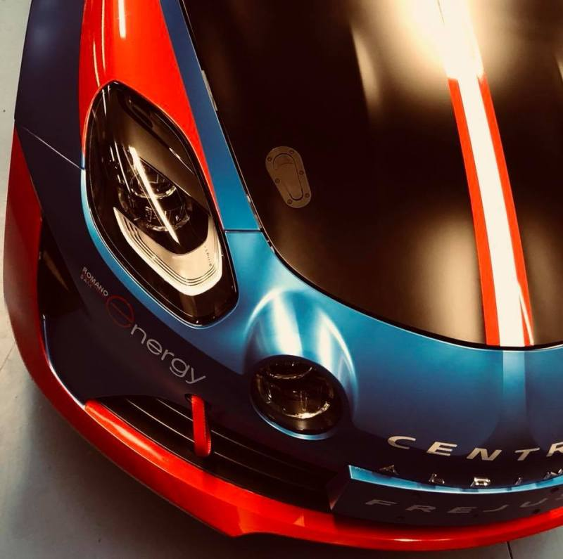 Alpine Planet A110 Europa Cup Signatech Ghostrider racing cmr - 3