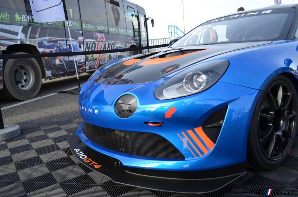 Alpine planet Coupes de Pâques Nogaro A110 GT4 2018 Alexandre Gaillardet 14-imp