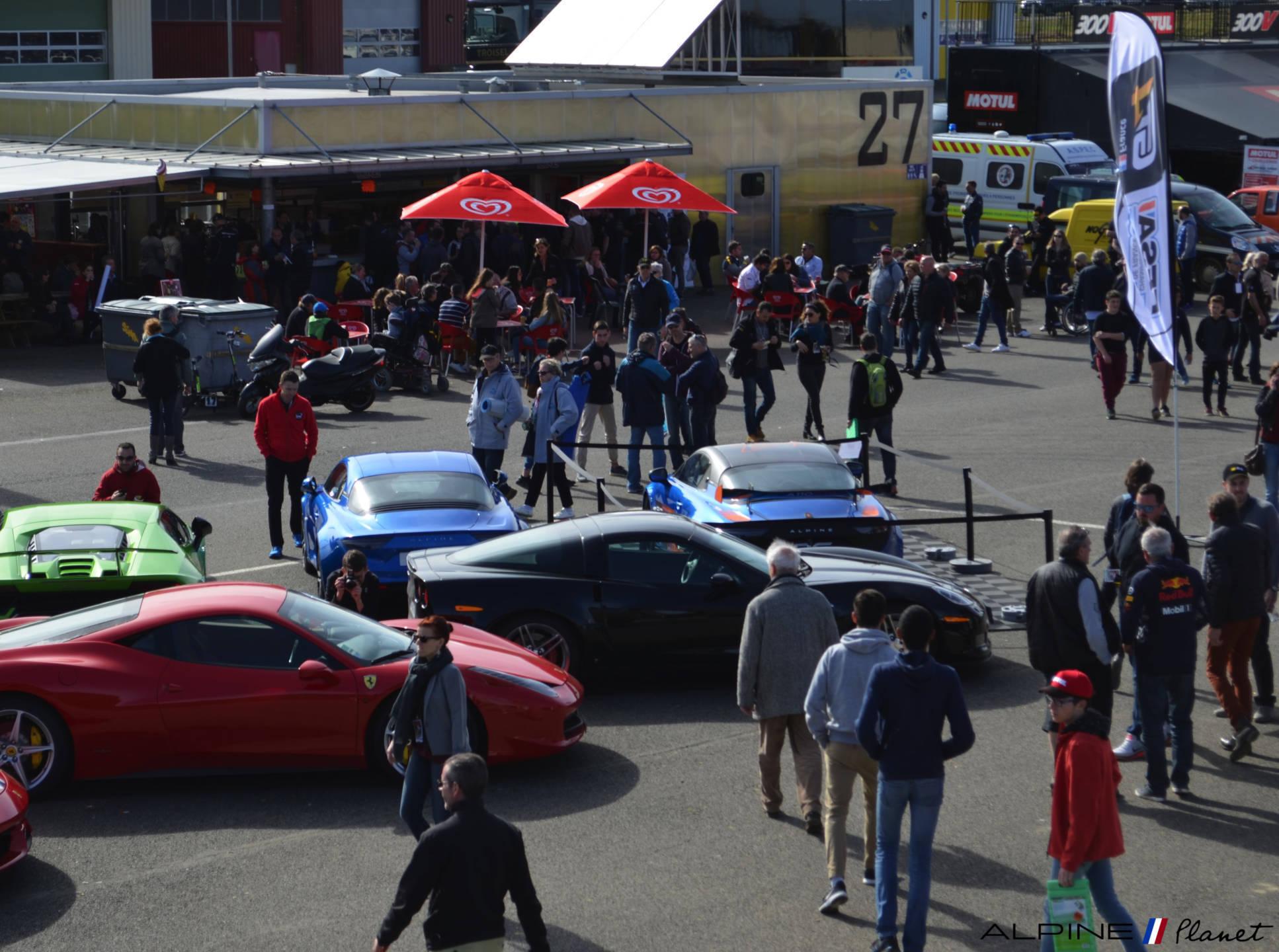 Alpine planet Coupes de Pâques Nogaro A110 GT4 2018 Alexandre Gaillardet 15-imp
