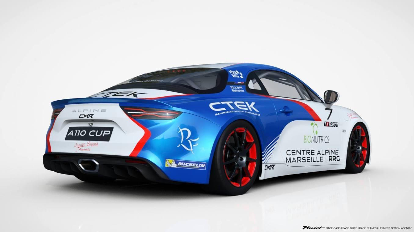 Vincent Beltoise nous présente son Alpine A110 CUP via CMR 1