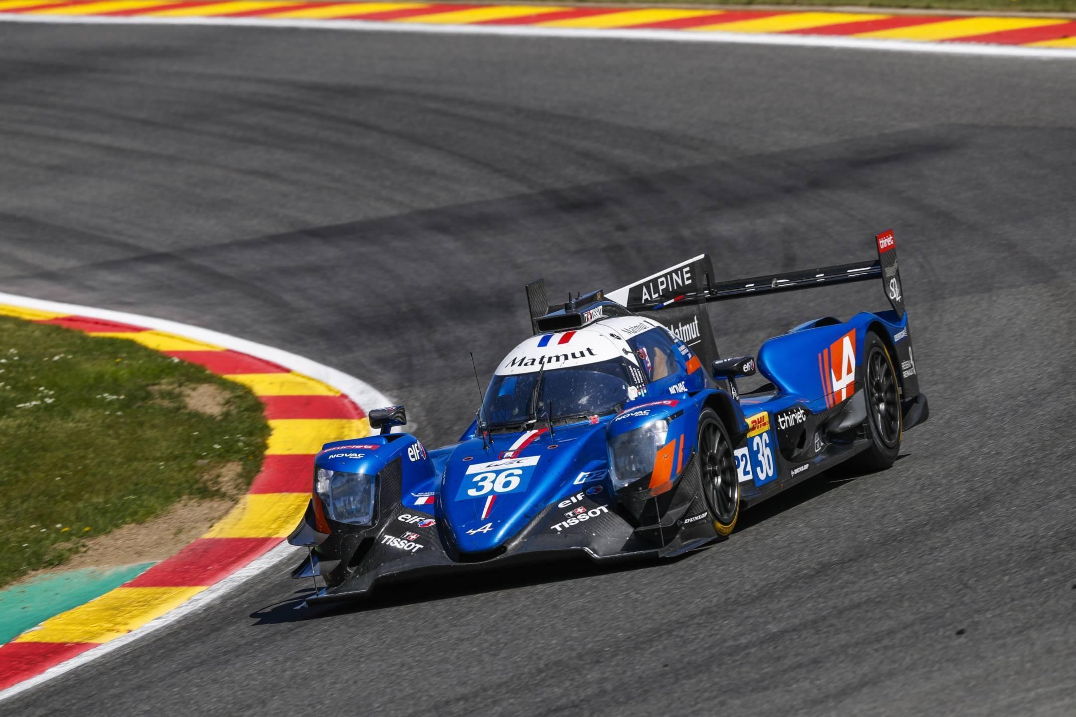 Signatech Alpine Matmut s'offre un podium à Spa-Francorchamps