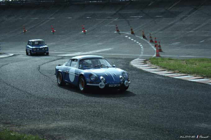 Alpine Planet A110 A310 A442 GT4 Losange Passion International 2016 Monthlery Ragnotti - 1-imp