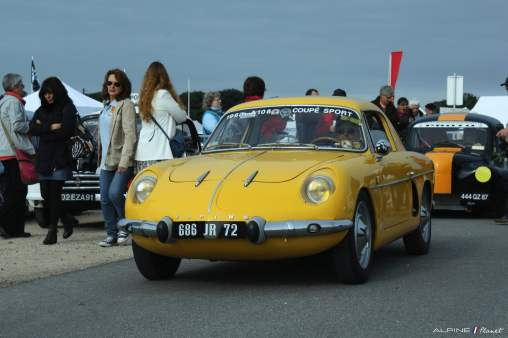 Alpine Planet A110 A310 A442 GT4 Losange Passion International 2016 Monthlery Ragnotti - 4-imp