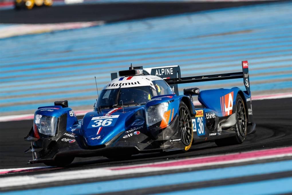 2018 - Signatech Alpine Matmut - Prologue du Championnat du Monde FIA WEC sur le Circuit Paul Ricard