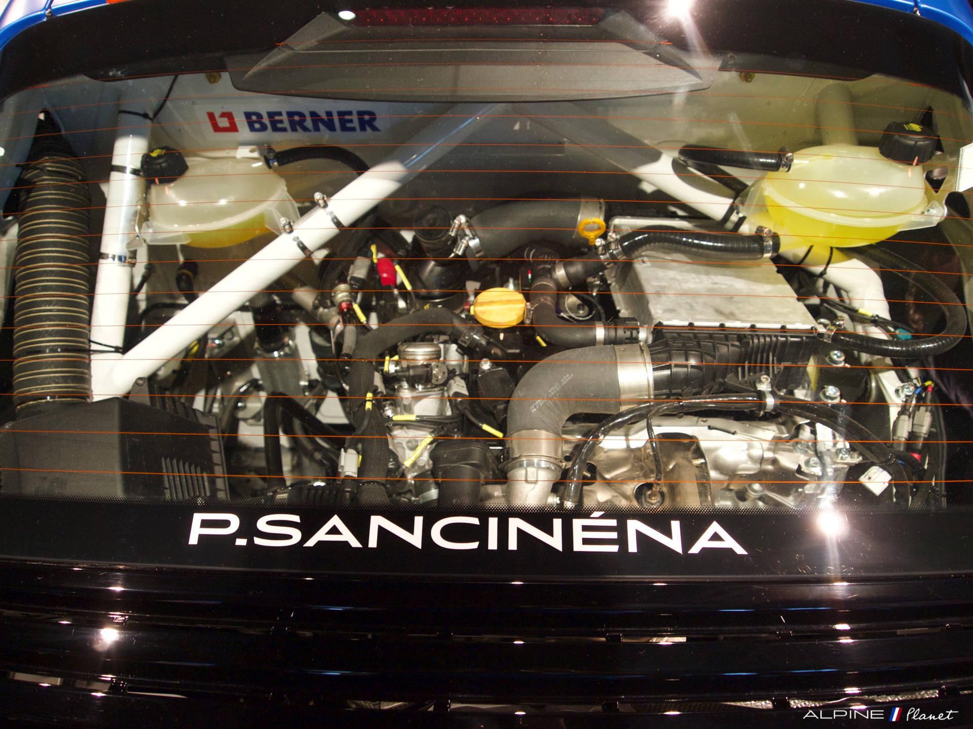 Présentation de l'Alpine A110 Cup de Pierre Sancinena 12
