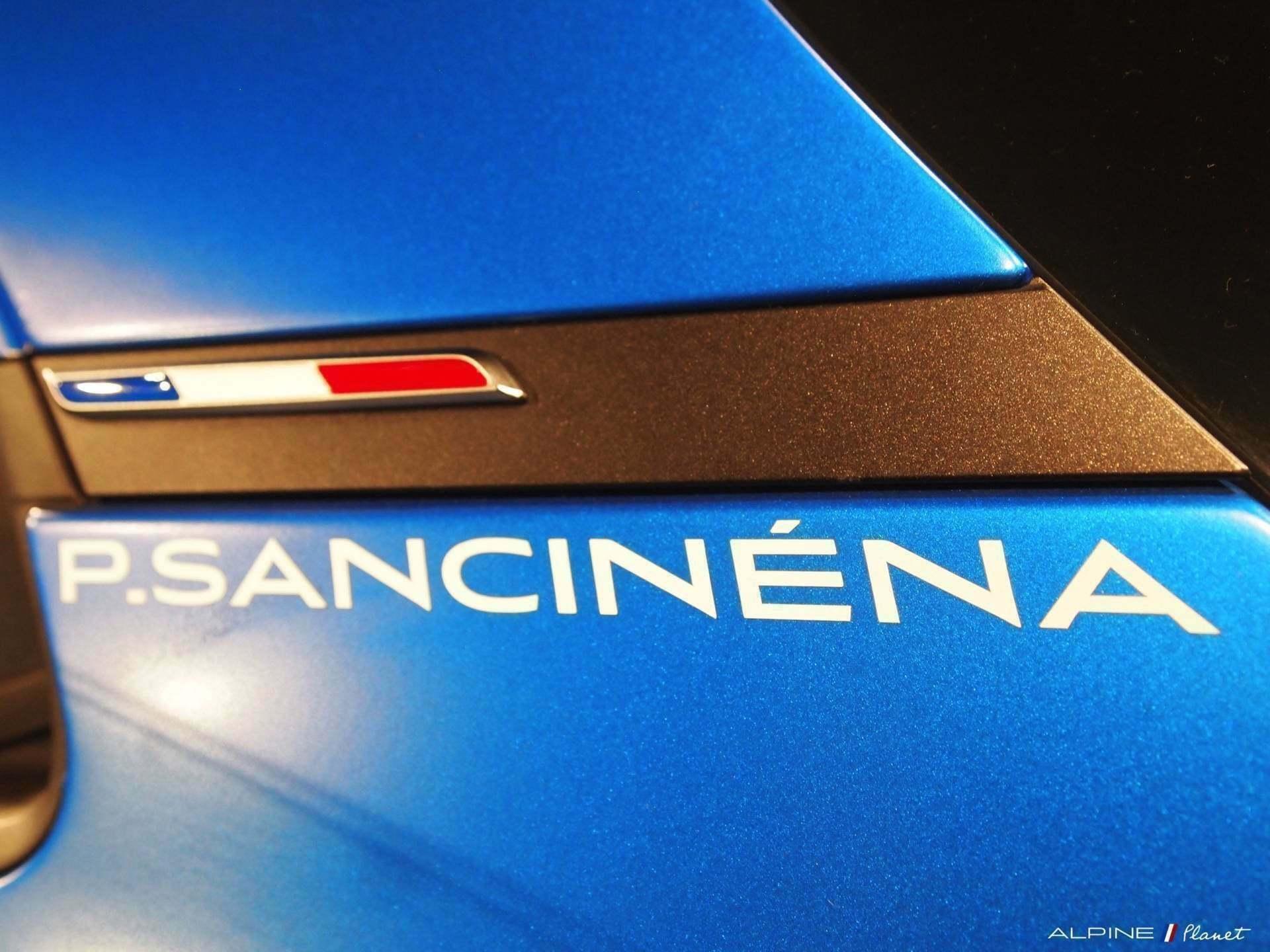 Présentation de l'Alpine A110 Cup de Pierre Sancinena 7