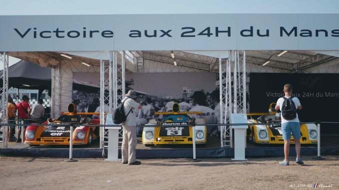 Alpine Planet Le Mans Classic 2018 A110 A310 GTA A610 Cup FCRA FFVE Berlinette Mag 96 imp - Le Mans Classic 2018: rendez-vous en terre connue pour Alpine !