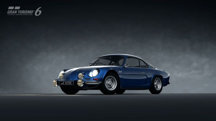 Alpine A110 1600 S Gran Turismo 6 Playstation 3