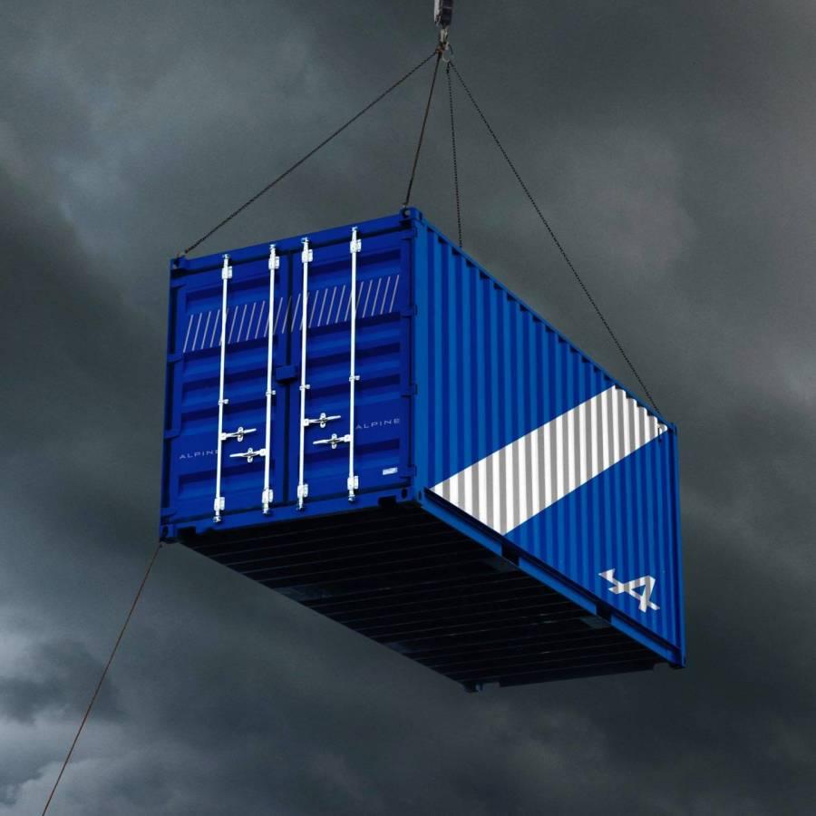 Alpine A110 livraison Japon Container (3)