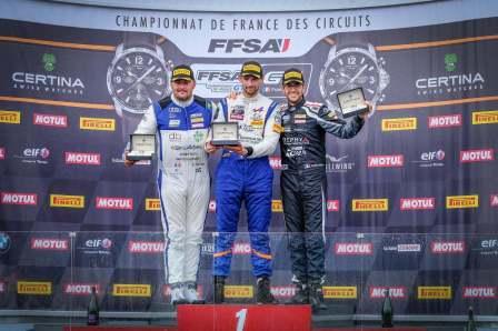 FFSA GT4 Alpine A110 Pierre Sancinena Magny Cours CMR victoire (4)