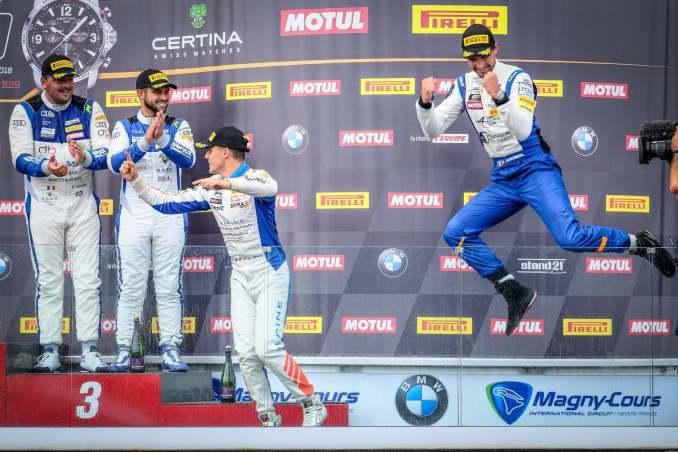 FFSA GT4 Alpine A110 Pierre Sancinena Magny Cours CMR victoire (6)