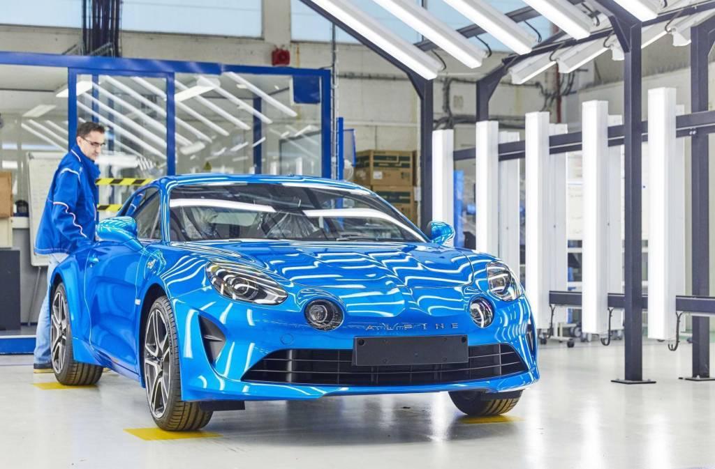 21201624 2017 Fabrication de l Alpine A110 l usine de Dieppe   Nouvelle Alpine A110 : Succès confirmé !
