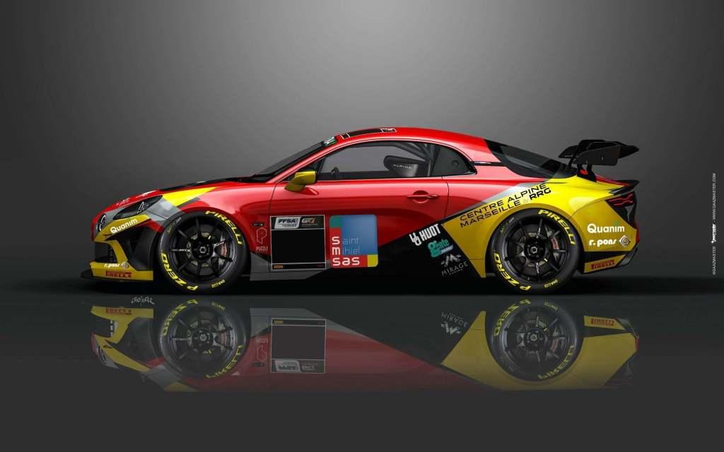 5e57bc23 f4c1 43c8 aa5b 011ccc864b7b | Mirage Racing en ordre de marche avec ses deux Alpine A110 GT4!