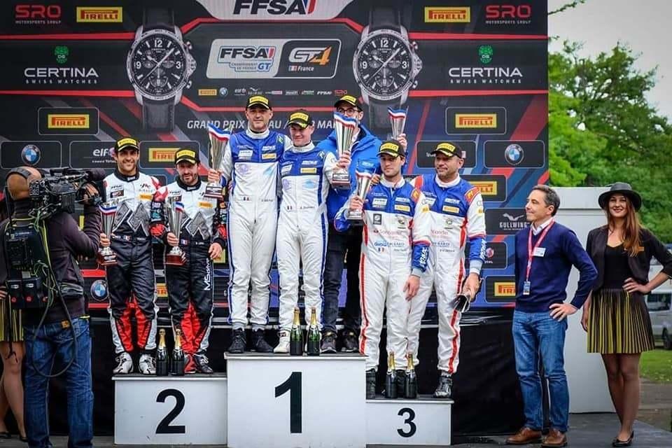 Alpine A110 Mirage Racing Pau FFSA GT Podium 2 | FFSA GT: Alpine en top 2 à la Course 2 à Pau