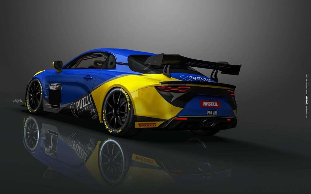 ad370640 1a5b 417f a1cc d00065295c7b | Mirage Racing en ordre de marche avec ses deux Alpine A110 GT4!