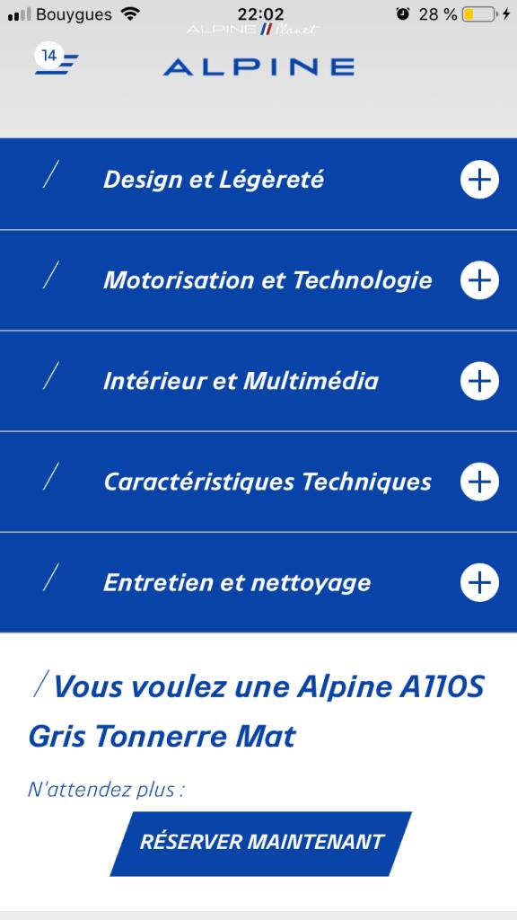 commander alpine A110S 9   Comment précommander l'Alpine A110S ?