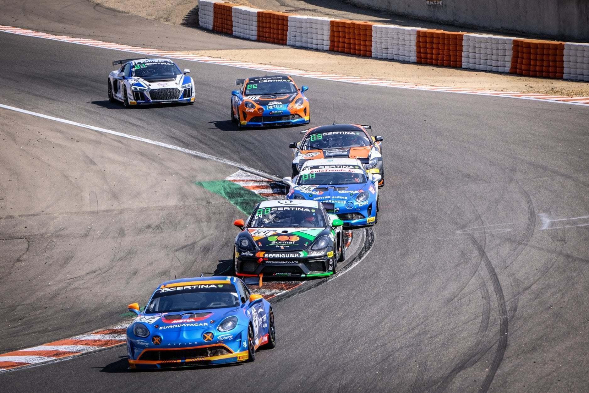 FFSA GT4 Circuit Lédenon Course 1 2019 Bodemer CMR Alpine A110 13 | FFSA GT: Rédélé Compétition s'impose à Lédenon ! (Course 1)