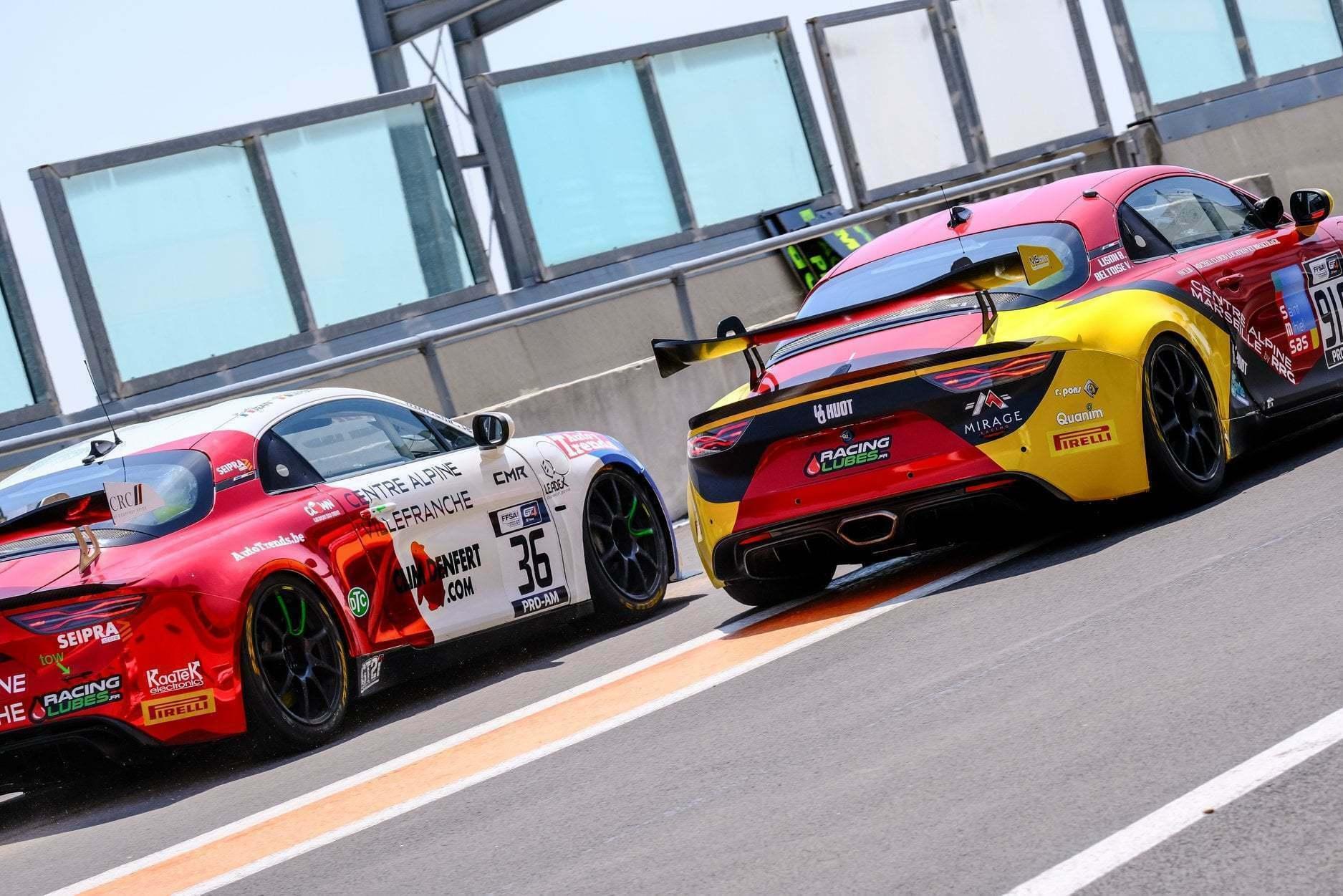 FFSA GT: CMR reprend la main Lédenon ! (Course 2) 1