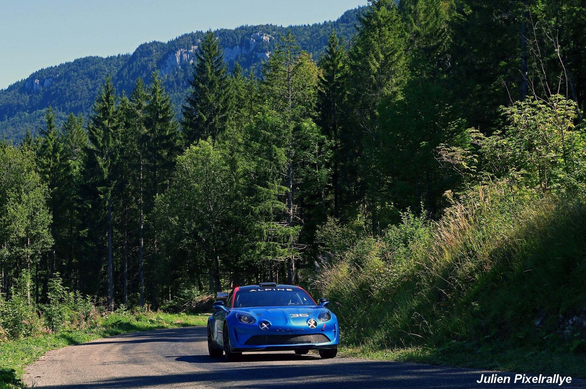 L'Alpine A110 Rally / R-GT en vidéo ! 9
