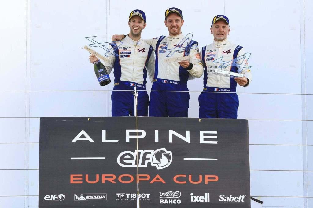 Alpine Elf Europa Cup: Castelli s'impose à Silverstone ! 2