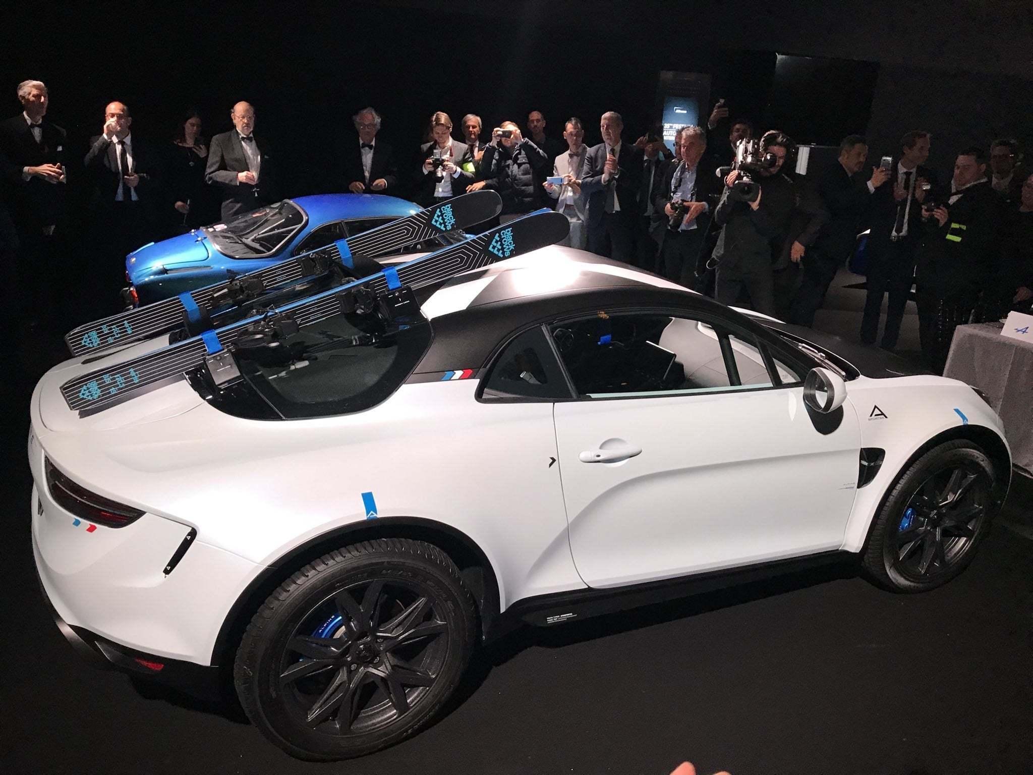ALPINE a110 sport sx AR | Alpine révèle le concept A110 sports X au Festival Automobile International