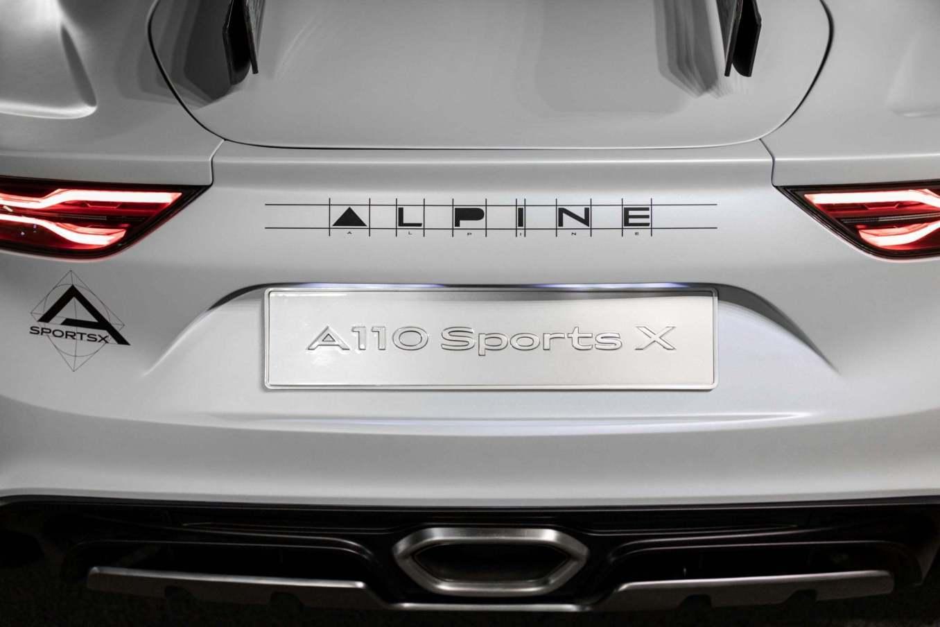 Alpine A110 SportsX Festival International Automobile 2020 4 scaled   Alpine A110 Sports X : un concept SUV Coupé ?