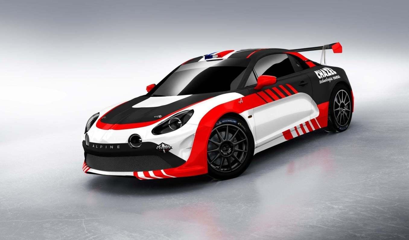 Alpine RGT CHAZEL 1 | Le Team Chazel Technologie Course engagera une Alpine A110 R-GT en 2020