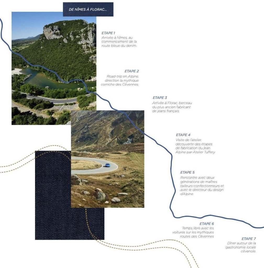 tuffery x alpine sur la route du made in france map   Tuffery X Alpine : sur la route du Made in France   Partie 1