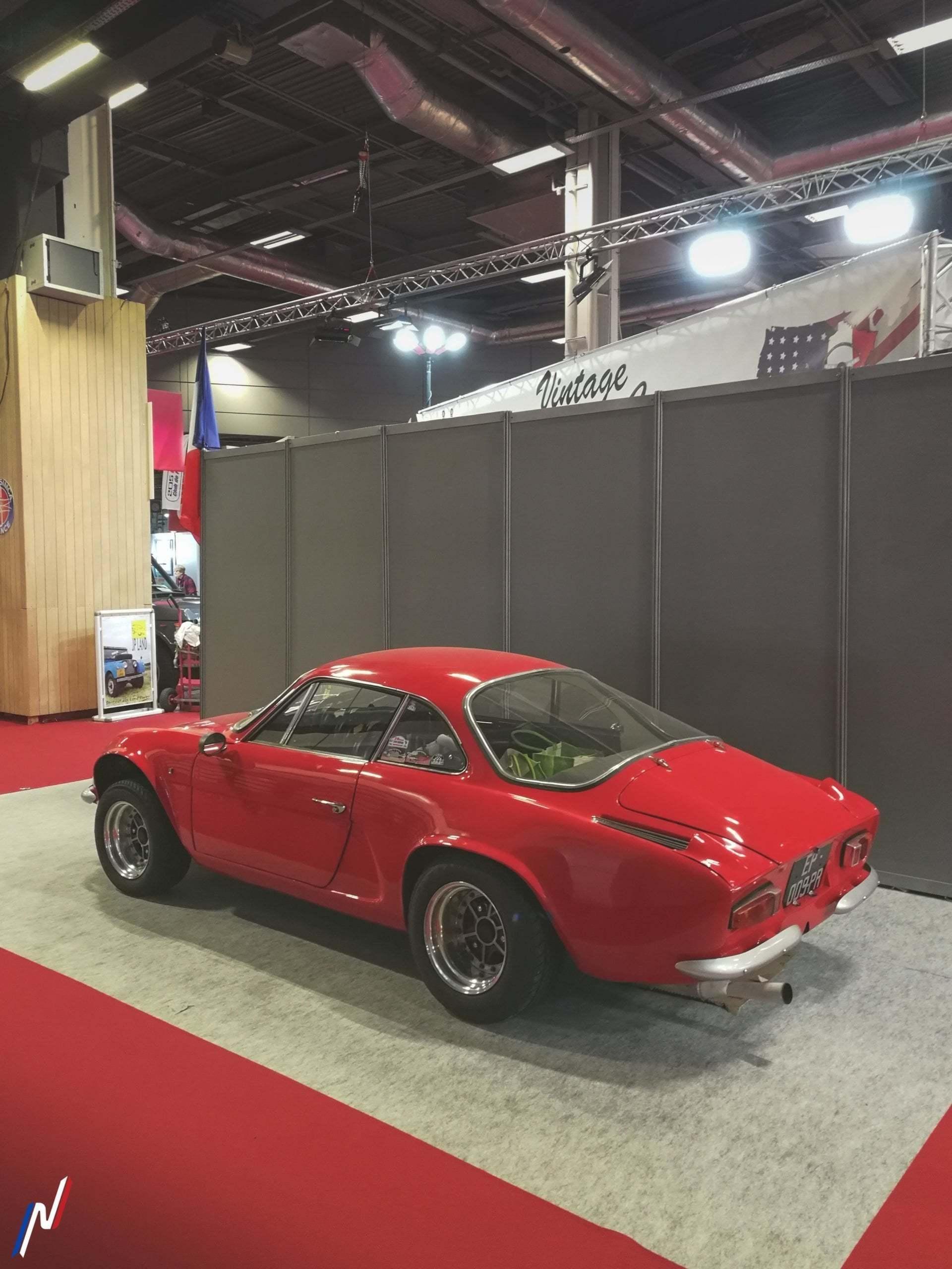 Rétromobile 2020 3 scaled - Rétromobile 2020: les Alpine en présence